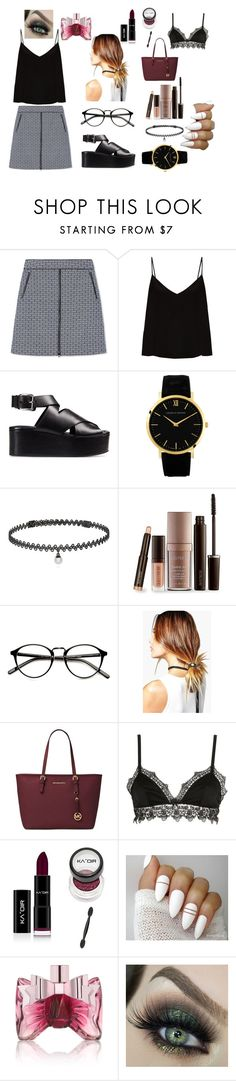 """""""Untitled #228"""" by fayleegrace ❤ liked on Polyvore featuring Tory Burch, Raey, Alexander Wang, BERRICLE, Laura Mercier, Boohoo, Michael Kors, Ermanno Scervino Lingerie and Viktor & Rolf"""