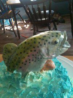 Rainbow Trout Cake