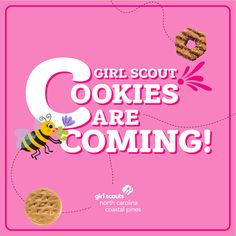 Cookie season kicks off January 16, and we can't wait for what is in store this year! The wait is almost over, Girl Scouts!