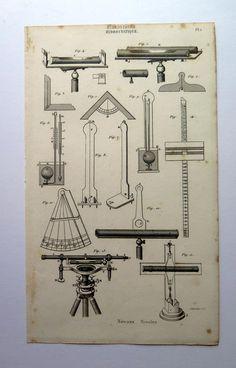 1852 vintage scientific measurement apparatus by LyraNebulaPrints