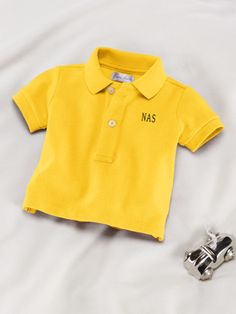 Baby Boy Cotton Polo Shirt - Create Your Own