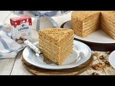 Tort Marlenka cu nuca si caramel (CC Eng Sub) New Recipes, Cookie Recipes, Dessert Recipes, Desserts, Romanian Food, Pastry Cake, Food Cakes, Caramel, Vanilla Cake