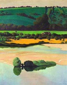 Félix Vallotton,Un soir sur la Loire, 1923