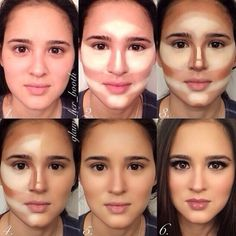 Makeup tutorial for contouring by Charlotte Magnolia