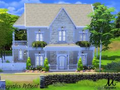 This house is built on a lot in Windenberg. It has 1 bedroom, 1 bathroom, 2 living rooms ans a cozy backyard. Found in TSR Category 'Sims 4 Residential Lots' Sims 4 House Plans, House Floor Plans, Cozy Backyard, Backyard Ideas, Tree Bedroom, Sims 4 House Design, The Sims 4 Lots, Casas The Sims 4, Sims Building