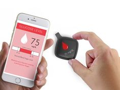 Say Peace Out to Painful Pricking - Flore is the first wearable device for diabetics that integrates biometrics to help alleviate the stress of managing the disease. The small device serves not only as a glucometer, but also as a motivation to make healthier choices in nutrition and physical activity. Designer: Hector Silva   Yanko Design