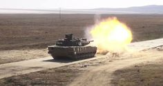 Fire Altay MBT