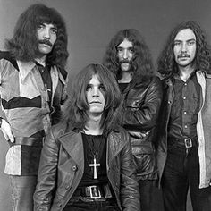 Black Sabbath from their glory days in the 1970s.