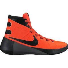 official photos 171bd 0ff2b Nike Men s Hyperdunk 2015 High Basketball Shoes - Size  8.5, Bright Crimson  Black