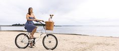 Beach & Dog Co - Hand crafted bicycle baskets for dogs Dog Bike Basket, Dog Car Accessories, Dog Thoughts, Cat Carrier, Wire Fox Terrier, Dog Beach, Dog Rules, Cute Cars, Jack Russell Terrier