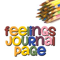 Many students have difficulty identifying their own feelings and the feelings of others. By having them put together a personal journal of feelings words, you can help them improve their own vocabulary, while teaching concepts of empathy and emotional control. #feelings #counseling #journal