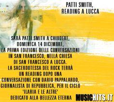 Nuovo evento in italia per Patty Smith