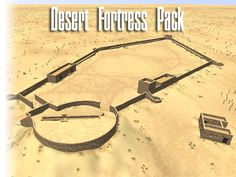 This model pack contains walls, towers and other buildings to create a fortress located in northern Africa.   Please Note: This pack is not suitable for mobile applications!  All Buildings are enterable (Door Script provided in JS & C#) and have optimized collision meshes.   All in all, there are eleven unique models plus several length variations of specific walls and have seven materials (diffuse with specular and normal maps) applied.  Textures provided in 2048x2048px  For questions, c...