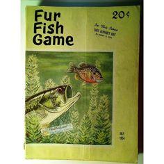 Fur Fish Game Magazine, July 1954 | $8.82