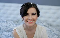 Pearl Crown Pearl Wedding Headband Bridal Bridal Pearl Headpiece on Etsy, £47.14