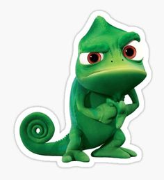 """Tangled- Pascal"" Stickers by lanataylor Meme Stickers, Cartoon Stickers, Tumblr Stickers, Phone Stickers, Cool Stickers, Printable Stickers, Minion Stickers, Disney Sticker, New Sticker"