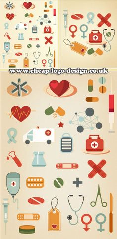 medical icon graphic logo ideas www.cheap-logo-design.co.uk #medicalgraphics #medical #healthlogo