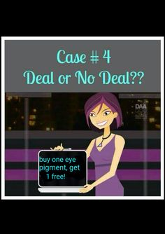 Deal or no Deal Younique style party game/#4 www.illegallengthsbycristina.com