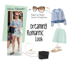 """""""Alicia Vikander in Ralph by Ralph Lauren Sunglasses"""" by visiondirect ❤ liked on Polyvore featuring Louis Vuitton, Ralph by Ralph Lauren, Poupette St Barth, Ancient Greek Sandals and Boohoo"""