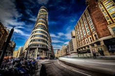 Photo Gran Via Madrid par Xavier Joly on 500px