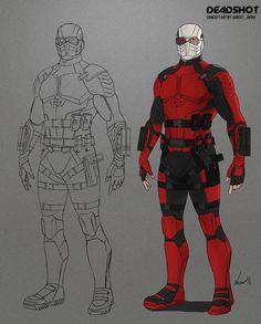 Superhero Art Projects, Superhero Characters, Fictional Characters, Victor Zsasz, Deadshot, Combat Gear, Dc Comics Art, Cultura Pop, Hero Arts