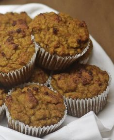 Pumpkin Muffins - Low Carb, Gluten Free, Sugar Free, Paleo  It's pumpkin time and I wanted to make the most delicious low carb, gluten free, ...