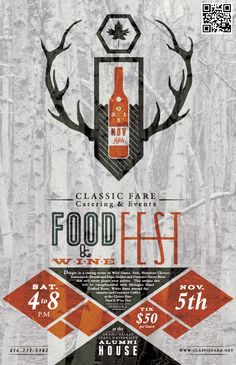 CF Catering - Event Promotion Design  #layout #poster