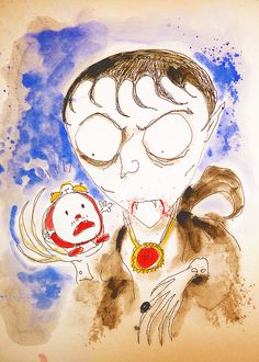 Barnabas Collins by Tim Burton
