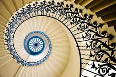 My house will have an outrageous spiral staircase. Maybe even made out of diamonds.