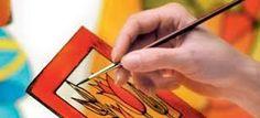 pintura sobre vidrio CUADROS PINTEREST - Buscar con Google