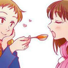 Diane e King Seven Deadly Sins Anime, 7 Deadly Sins, Seven Deady Sins, Happy Tree Friends, Diane, Love Fairy, Fan Art, Anime Angel, Star Butterfly