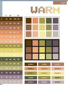 warm color combinations: living room/ dinning room? bathroom?
