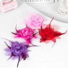 Artificial Simulation Rose Flower Wedding Headdress Bride Bridesmaids Hand Corsage Feather Wrist Flowers Optional LH from Engerlaa,$2.14 | DHgate.com