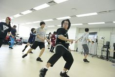 【バンタンゲームアカデミー】アニメ&ゲーム声優専攻高等部1年生に、プロがストリートダンスをレッスン!