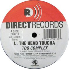 L. The Head Toucha - Too Complex / It's Your Life