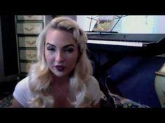 Part 1:  How to Achieve Elegant Vintage Curls (Faux Pin Curls)
