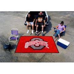 "Ohio State Buckeyes Tailgating Ulti-Mat 60""x96"""