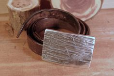 """Customized Steel Belt Buckle by Hand Forged Harmony. Etched with your design or special message, this would be a great Groomsman, Fathers day, or Graduation present. Fits up to 1-1/2"""" belt width. Belt not included.   We are a husband and wife team that can custom design  anything you can dream of. Be sure to visit our Etsy shop for more unique and memorable gift ideas! etsy.com/shop/handforgedharmony #handforgedharmony"""