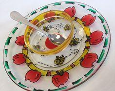 rosh hashanah honey dish craft