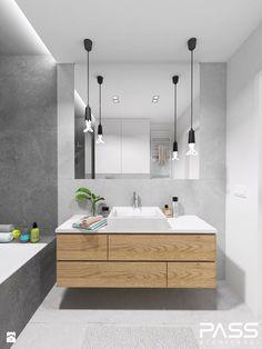Wystrój wnętrz - Średnia łazienka z wanną - pomysły na aranżacje. Projekty, które stanowią prawdziwe inspiracje dla każdego, dla kogo liczy się dobry design, oryginalny styl i nieprzeciętne rozwiązania w nowoczesnym projektowaniu i dekorowaniu wnętrz. Obejrzyj zdjęcia! - strona: 6