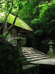 Honen-in Temple, Kyoto, Japan 京都・法然院 Japanese Landscape, Japanese Architecture, Japanese Gardens, Japanese Temple, Japanese House, Beautiful World, Beautiful Places, Japan Garden, Photos Voyages