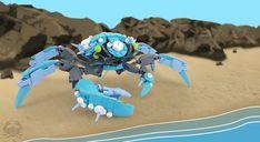 Cerulean crustacean Lego Bots, Lego Animals, Lego Mechs, One Small Step, Baby Blessing, Lego Worlds, Lego Models, Lego Projects, Lego Stuff