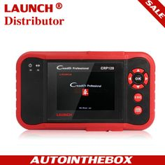 OBDII diagnostic full function http://www.autointhebox.com/launch-crp-129-creader_c78 #obd