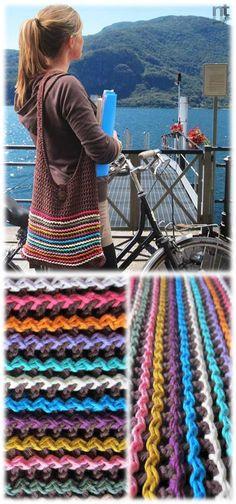 Crochet purses