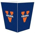 WB3417-University of Virginia Wastepaper Basket $116.00 #UVA #UniversityofVirginia