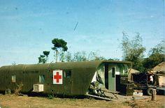 Medical facility, Vietnam. dropped by Skycrane