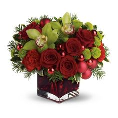 Holiday Floral Centerpieces - Bing Images