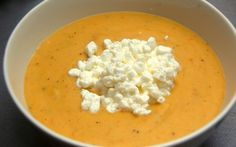 Soup Recipes, Vegetarian Recipes, Cooking Recipes, Healthy Recipes, Healthy Food, My Cookbook, Cheeseburger Chowder, Feta, Food And Drink