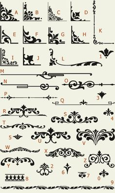 Letterhead Fonts / LHF Main Street Ornaments / Golden Era Studios NOT FREE
