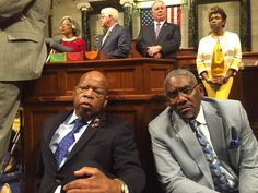 U.S. House Democrats Stage Sit-in Led by John Lewis on Floor of Congress Over Guns